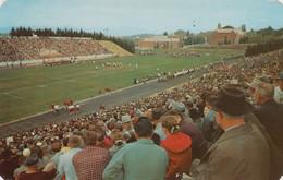 Moscow Idaho, Neale Stadium, University Of Idaho, View Football Game, C1960s Vintage Postcard - Otros
