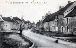 Le Chatelet En Brie. Route De Fontaine-le-Port. - Le Chatelet En Brie
