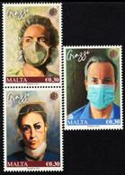 Malta - 2021 - Malta Healthcare Heroes - Covid-19 - Mint Stamp Set - Malta