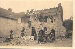 A/191           89      Ste-maris De La Pierre Qui Vire   - Les Moines Au Travail  - Maçons-charpentiers - Autres Communes