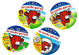Lot De 12 étiquettes De   VACHE  QUI  RIT  Neuves  (3 Scans) - Cheese