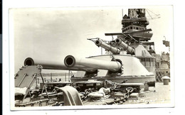 CARTE PHOTO - U.S.S. TEXAS - Warships