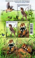 Belarus - 2021 - Europa CEPT - Endangered National Wildlife - Warbler Bird And Hamster - Mint Miniature Stamp Sheet - Belarus