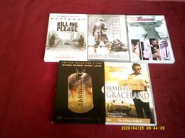 PROMO DVD  REF  286   °° LE LOT DE 5 DVD POUR 20  EUROS °°° - Unclassified