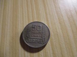Algérie - 50 Francs Turin 1949.N°2840. - Algeria