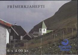 FÄRÖER  MARKENHEFTCHEN 6, Postfrisch **, Europa CEPT Mitläufer: NORDEN: Touristische Attraktionen 1993 - 1998