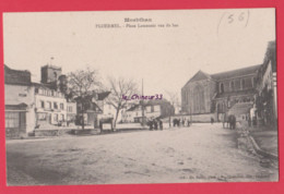 56 - PLOERMEL---Place Lamenais Vue Du Bas---animé - Ploërmel