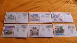 LOT 12 ENVELOPPES FDC DIVERS DE 1994.../ FRANCE SUEDE, COUR DE CASSATION, MARTIGUES, GRENOBLE, HOMMAGE AUX MAQUIS.. - 1990-1999
