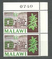 Malawi, 1966 (#48c), Tobacco Industry Agriculture Field Plant Wooden Barrels Tabakindustrie Landwirtschaft Pflanze - Tobacco