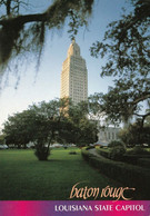 1 AK USA Louisiana * Das Höchste Kapitol Der USA - State Capitol In Baton Rouge - Hauptstadt Des Bundesstaats Louisiana - Baton Rouge