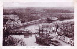 56 - Morbihan - AURAY -  Vue Generale Du Port - Trois Mats A Quai - Auray