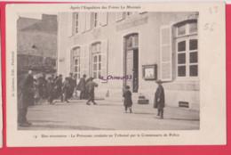 56 - PLOERMEL---Apres Expulsion Des Freres La Menais---Une Arrestation--La Prevenue Conduite Au Tribunal.... - Ploërmel