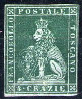 Toscana Nº 6. Año 1851 - Toskana