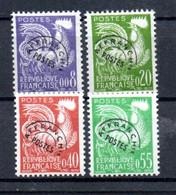 R2-4 France Préos N° 119 à 122 **  à 10 % De La Côte  !!! - 1953-1960