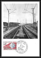 1999/ Carte Maximum (card) France N°1488 Chemins De Fer, à Paris Train Fdc Premier Jour - 1960-69