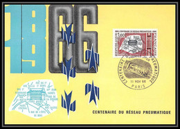 2021/ Carte Maximum (card) France N°1488 Poste Pneumatique, à Paris Fdc Premier Jour - 1960-69
