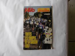 Cyclisme - Guide Des équipes 1987 - Cycling