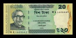 Bangladesh 20 Taka 2013 Pick 55Ab SC UNC - Bangladesh