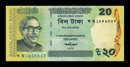 Bangladesh 20 Taka 2014 Pick 55Ac SC UNC - Bangladesh