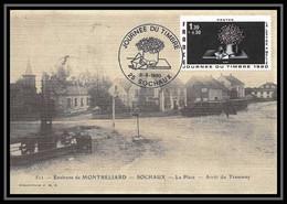 3680/ Carte Maximum (card) France N°2078 Journée Du Timbre 1980 Lettre à Mélie D'Avati Sochaux - 1980-89