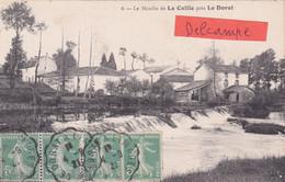 87-Moulin De La CAILLE, Près LE DORAT- ECRITE-Timbrée 4/9/1921 - Le Dorat