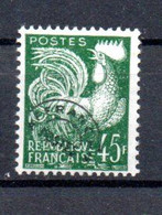 R2-4 France Préo N° 117 **  à 10 % De La Côte  !!! - 1893-1947