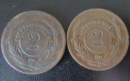 Uruguay - 2 Monnaies 2 Centesimos 1869 - Uruguay