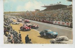 SPORT AUTOMOBILE - LE MANS - Circuit Des 24 HEURES - Le Démarrage Des Voitures - Le Mans