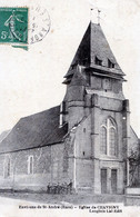 27  EGLISE DE CHAVIGNY  (ENV DE ST ANDRE) - Otros Municipios