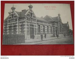 HAINE SAINT PIERRE  -  HAINE ST PIERRE -  Façade De La Station  -  1911   - - La Louviere