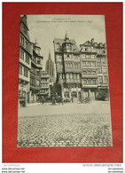 FRANKFURT AM MAIN  -  Römerberg, Blick Nach Dem Alten Markt Und   Dom - Frankfurt A. Main