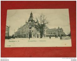 FRANKFURT AM MAIN  -   Schauspielhaus  -  Restaurant   -  1912  - - Frankfurt A. Main