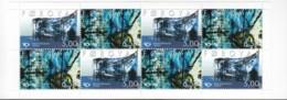 FÄRÖER Markenheftchen MH 19, 4x 421-422, Postfrisch **, NORDEN: Kunst Des 20. Jahrhunderts, 2002 - Faroe Islands
