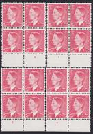 Belgie  .   OBP  .  910  .  4 Blokken  .   Planches  1/4      .   **   .      Postfris   .    /  .   Neuf SANS Charniére - Unused Stamps