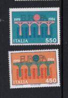 ITALIE EUROPA CEPT 1984  XX MNH SUPERBE - 1984