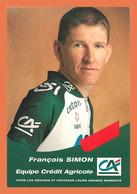 A518 / 533 Cyclisme Francois SIMON - Unclassified