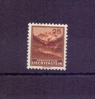 Liechtenstein Dienstmarke - MiNr. D 15 A Ungebraucht* - Michel 44,00 € (695) - Unused Stamps