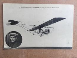 Le Monoplan Métallique « TUBAVION» En Plein Vol Piloté Par Marcel Goffin - Airmen, Fliers