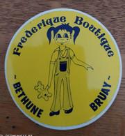 Autocollant Publicitaire, Frederique Boutique, BRUAY - Stickers