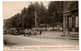 Acieries De La Marine -  Service De Cantonnements Ouvriers -   CPA°W - Sonstige Gemeinden