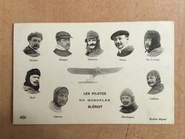 Les Pilotes Du Monoplan Blériot - Airmen, Fliers