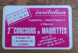Autocollant Publicitaire, Concours De Maquettes 1989,BEUVRY - Stickers