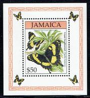 Jamaica 1994, Butterflies: Schwalbenschwanz (Papilio Homerus)/Swallowtail/Queue D'hirondelle, MiNr. 834 (Block 40) - Butterflies