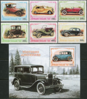 TOGO 1999 Old Cars Antiques Automobiles Transport MNH - Coches