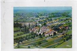 Fontaines (71) : Vue Aérienne Au Niveau Du Quartier De L'église En 1988 (animé) GF. - Altri Comuni