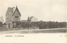 Oude Postkaart.  Knocke.  Le Petit Bois. 1902 - Knokke