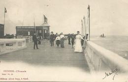 Oude Postkaart.  Ostende  L'Estacade 1902 ( Albert  Sugg. ) - Oostende