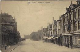 Arlon Avenue Des Voyageurs 1922  (2 Scans) - Arlon