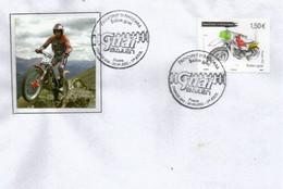 Atelier Bailén Motos (Moto Bailen Guai,fabriqué En Andorre)  FDC  Andorra 2021 - FDC