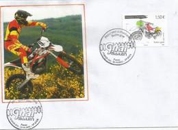 ANDORRA. Atelier Bailén Motos (Moto Bailen Guai,fabriqué En Andorre)  FDC  Andorra 2021 - Motorbikes